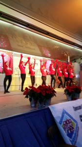 "U Gotta Dance  performing ""Sleigh Ride"" at the Holiday Lighting"