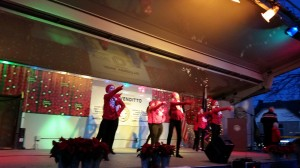 "U Gotta Dance Performing  ""Sleigh Ride"" at 2014 Holiday Lighting"