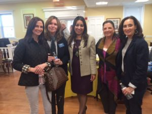 Jaclyn Donno, Maureen Nickel, Chanbir Kaur, Donna Greenspan, Ruth Seidenberg