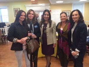 Jaclyn Donno, Maureen Nickel, Chanbir Kaur, Donna Greenspan, Ruth Seidenberg