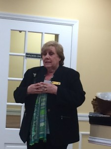 Danielle Delgrosso Roslyn Savings Bank  Host of April  General Meeting